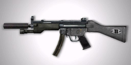 Suppressed 9mm SMG